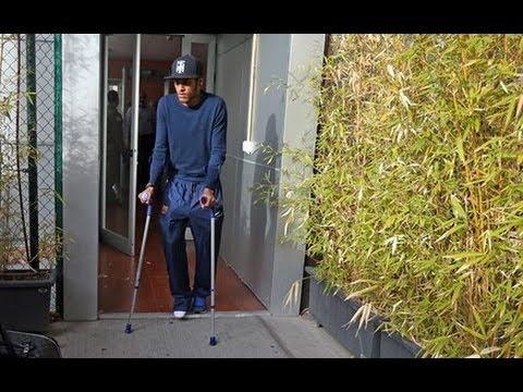 Neymar ankle injury Neymar lesionado | out 3-4 weeks | Getafe CF vs FC Barcelona | 16/01/2014