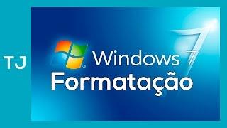 Como formatar um PC e instalar o windows 7 (atualizado)