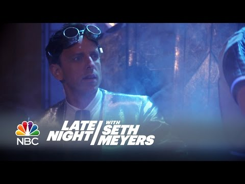 What Happens After Seth Goes Home: Time Machine - Late Night with Seth Meyers