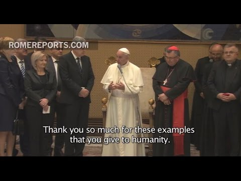 Pope Francis to delegation from Sarajevo: I learned so much from you