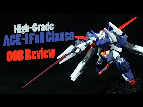 257 - HG Gundam AGE-1 Full Glansa (OOB Review)