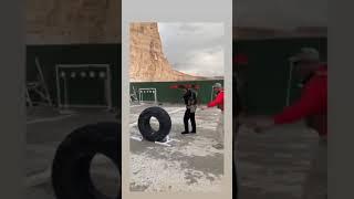 Khabib  Nurmagomedov At Shooting Pistol