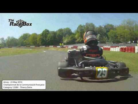 Onboard Thierry Delre at Amay Cobra Kart - 23 May