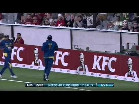 2nd T20 AUS v SL - Match Wrap