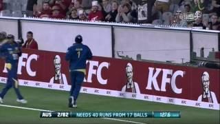 2nd T20 AUS v SL - Match Wrap