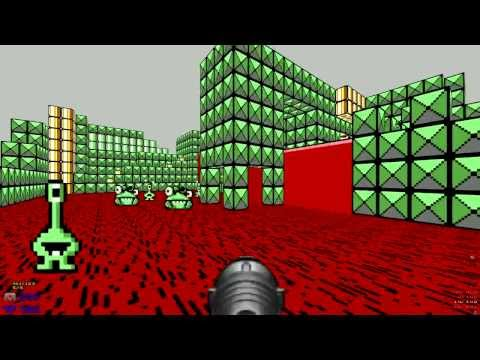 Doom2 The Way Id Did - d2twid.wad - MAP31 Vorticon (Secret Level...