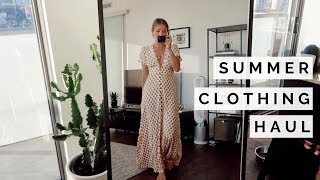 SUMMER CLOTHING HAUL | TRY ON