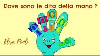Elisa Pooli - Dove sono le dita della mano ?      Tratto dall'Album CantaAScuola