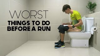 Worst Things to do Before a Run   4 Common Mistakes