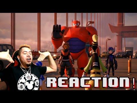 Kingdom Hearts 3 Big Hero 6 Trailer REACTION
