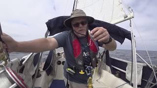 Sailing Dana Point to Descanso Bay, Catalina Island 2017-09-30