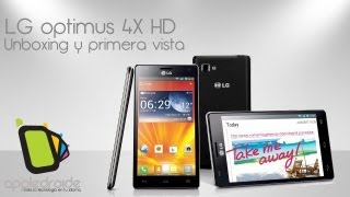 LG Optimus 4X HD Unboxing y primera Vista