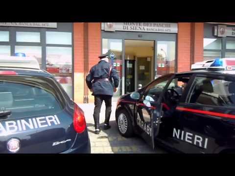 Valmontone. Rapina al Monte Paschi del Villaggio Rinascita. Arrestati dai Carabinieri i 3 rapinatori