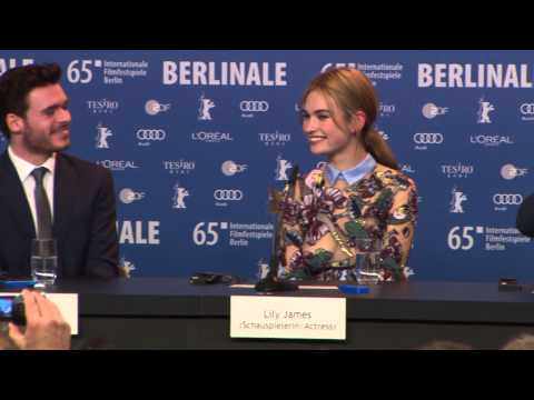 """Cinderella"" Berlin Film Festival Press Conference (Part 1)"