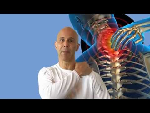 Neck Pain Relief Exercise Self Massage For Neck Muscles Yoga Tune Up