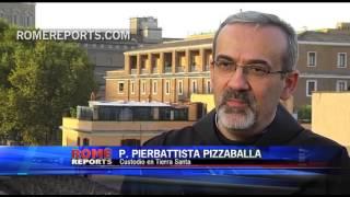 Romereports Vaticano Videos del Papa Francisco Homilias - La Custodia de Tierra Santa acompaña a la población siria en medio de la guerra