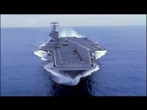 The Largest Aircraft Carrier in The World Video Walk Through