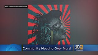 LA School Officials To Hold Community Meeting Over Removal Of Controversial Mural