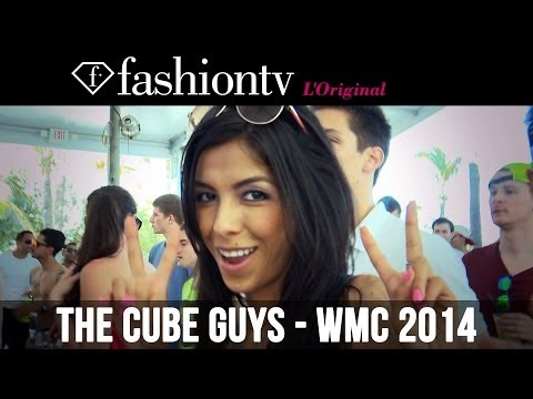 The Cube Guys @ Nikki Beach WMC 2014 Miami Beach | FashionTV
