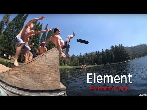 Element Skateboard Camp