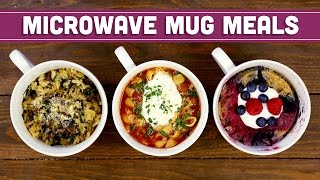 Microwave Mug Meals with The Domestic Geek! Collab - Mind Over Munch