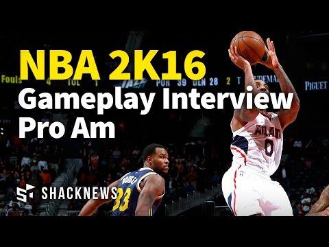 NBA 2K16 Gameplay Interview Pro Am