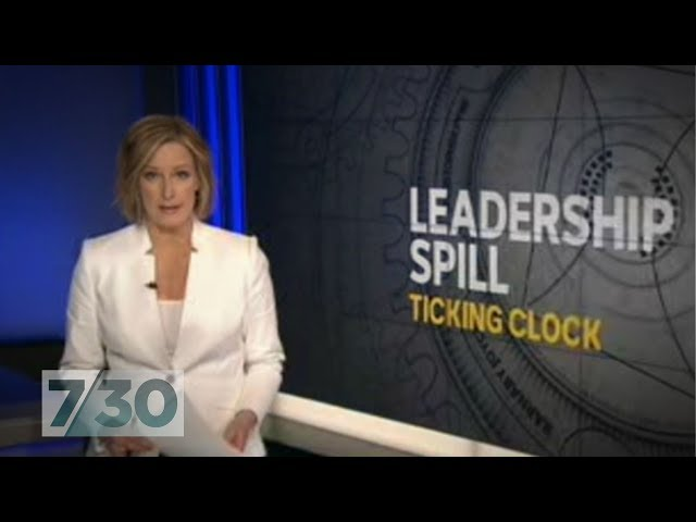 Knives out for Malcolm Turnbull after leadership test