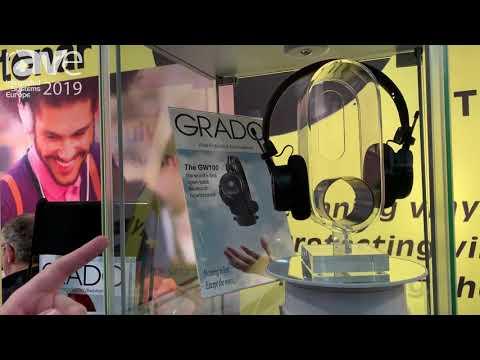 ISE 2019: Tonar Presents Grado GW100 Open-Back Bluetooth Headphones