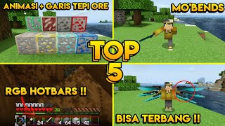 TOP 5 TEXTURE PACK DI MCPE V 1.14/1.16+ [MINECRAFT PE/BE/WIN10]