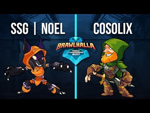 Cosolix v SSG | Noel - 11v1 Top 32 - Brawlhalla World Championship 2017 -