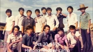 Thailand: Hmong Refugee Camp, Nong Khai, Thailand, taught English class in 1976