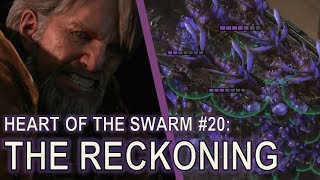Starcraft II Heart of the Swarm Mission 20 - The Reckoning [Vipers and Banelings!]