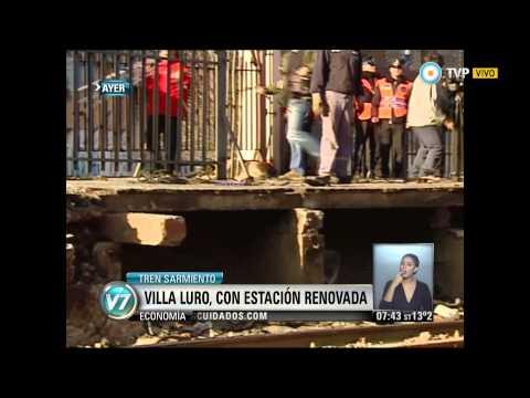 Visión 7 - La nueva estación Villa Luro (1)