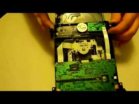 Xbox 360 Samsung Eject Motor Replacement tutorial. DVD Disc Drive Repair guide