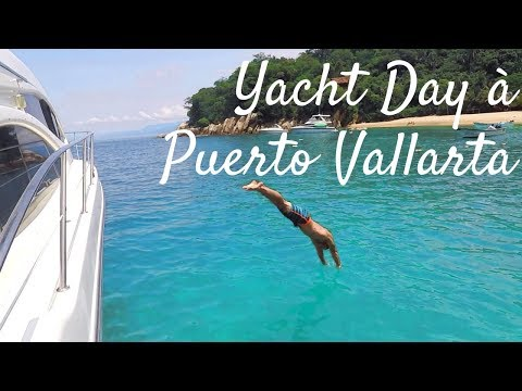 CRAZY YACHT DAY IN PUERTO VALLARTA | Vlog 8