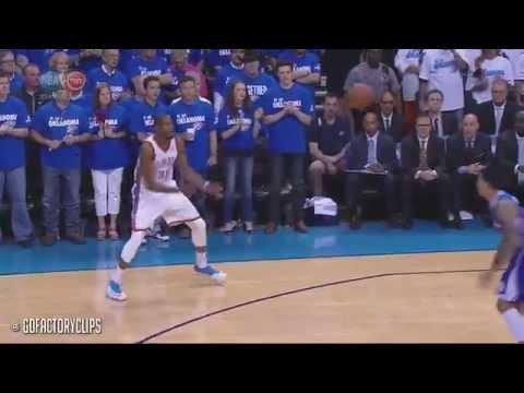 Kevin Durant Full Highlights vs Clippers 2014 Playoffs West Semis G2 - 32 Pts, 12 Reb, 9 Ast