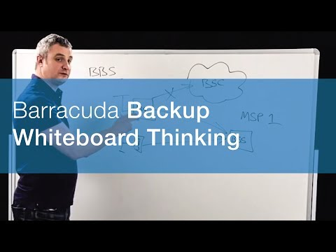 Whiteboard Thinking | MSP Barracuda Backup
