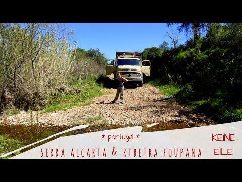 Überwintern in Portugal: Serra Alcaria und Ribeira Foupana