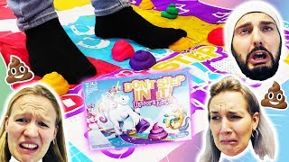 ACH DU EINHORNKACKE! Don`t step in it UNICORN Edition Deutsch - Wer tritt in den Haufen? Spiel mit!