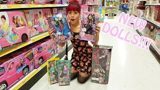 Toy Hunting NEW Monster High, Ever After High and Made To Move Barbie