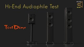 Hi-End Audiophile Test - Sound Test Demo SACD