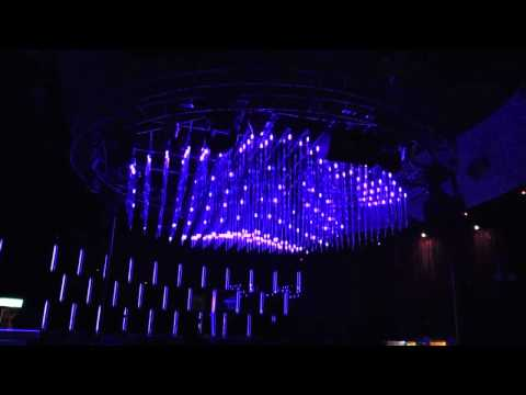 MADRIX professional @ Muse - Taipei, Taiwan RGB 3D LED tubes nightclub lighting