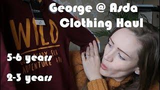 George @ Asda Kids Clothing Haul