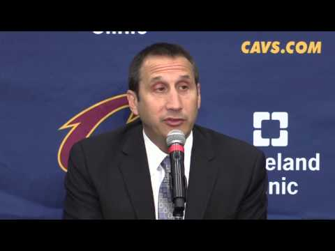 What David Blatt said at Cleveland Cavaliers media day