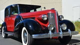 1937 Brewster Buick Limousine For Sale One of One CA