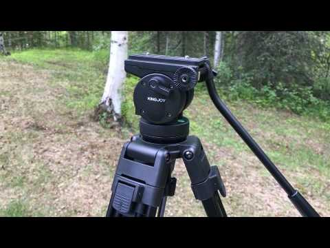 VT-2500 Professional Video Tripod with Fluid Head