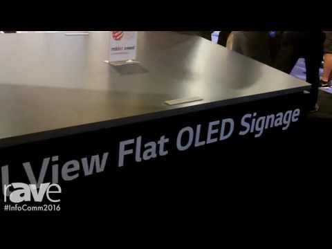 InfoComm 2016: LG Electronics Demonstrates New OLED Dual-Sided Flat Models