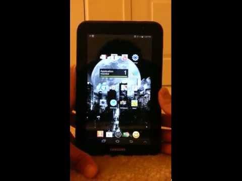 Samsung Galaxy Tab 2 7.0 Screenshot (JELLYBEAN)