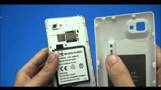 LG Optimus 4X HD P880 4400mAh Mugen Power Extended Battery [HLI-P880XL]