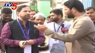 Collector Syed Omer Jaleel Face To Face About Votes Counting | Vikarabad